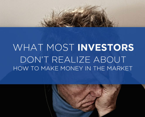 what investors doesnt realize making money in the market