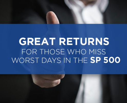 Great Returns Come To Those Who Miss 10 Worst Days In The SP 500