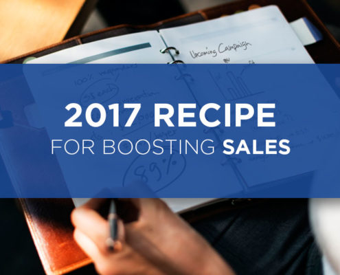 2017 recipe for boosting sales