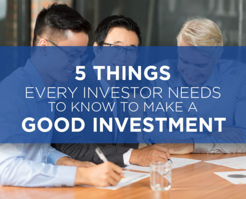 tips for making a good investment