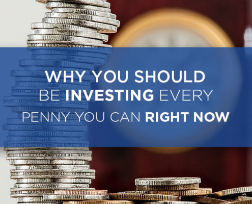 why you should start investing right now