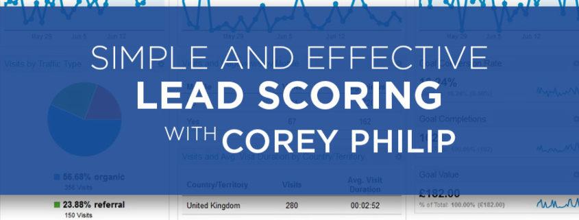 Lead Scoring with Corey Philip