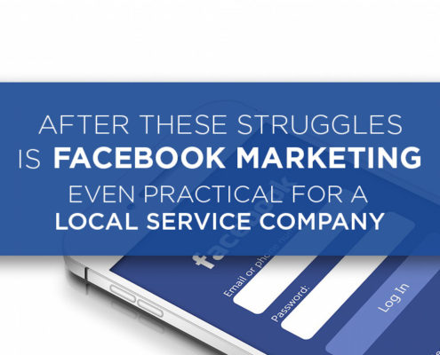 Facebook Marketing Even Practical For A Local Service Company