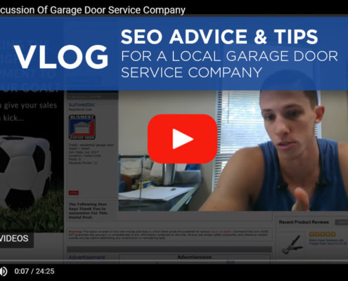 SEO Advice & Tips For A Local Garage Door Service Company coreyphilip.com